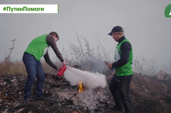 Зелёная дружина решила обратится за помощью к Путину, чтобы привлечь внимание к проблеме горящих свалок