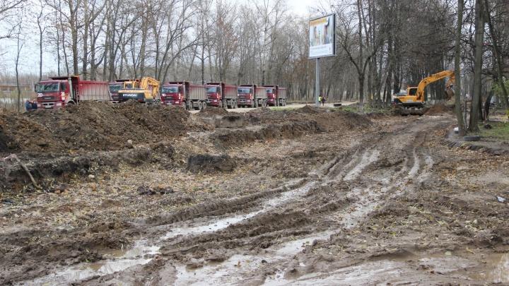 Осталось 7 дней: как в Ярославле выглядит перекрытый участок на Тутаевском шоссе