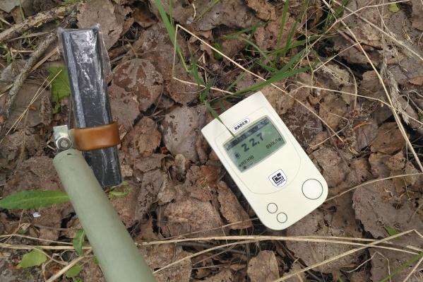 Новосибирец незаконно проник на территорию хвостохранилища, чтобы узнать радиационный фон