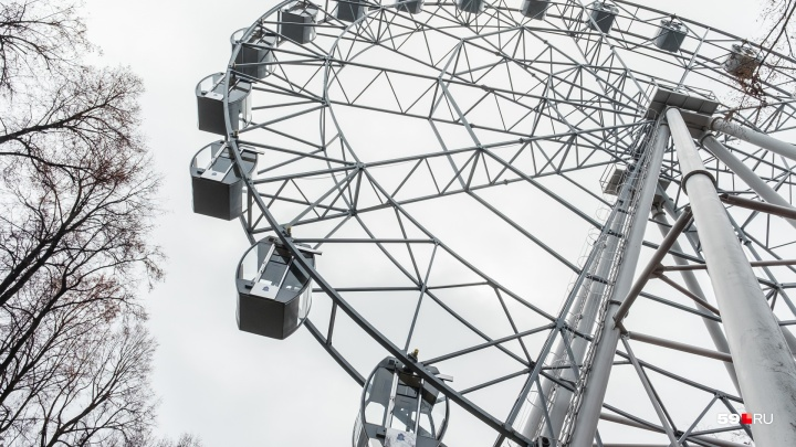 Парк Горького в Перми временно закрыли из-за гололедицы