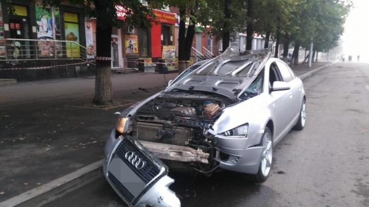 Появилось видео момента страшного ДТП на Первомайской в Уфе
