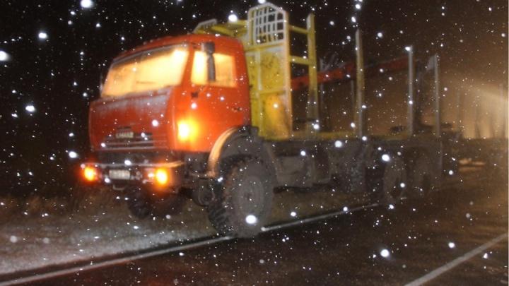 В Курганской области задавили лежачего пешехода
