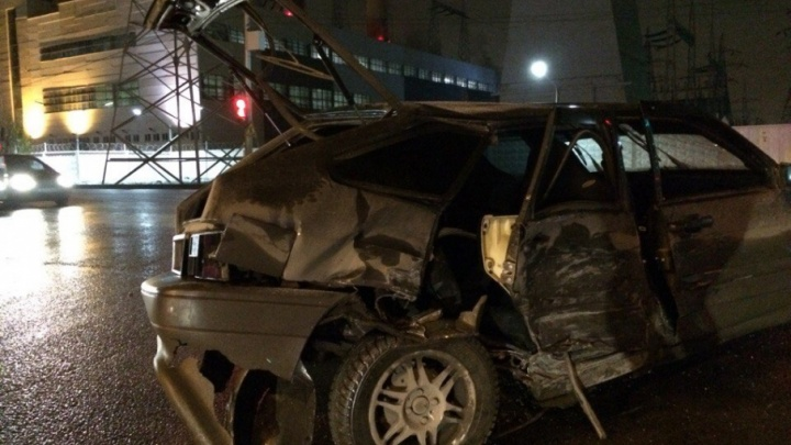Серьёзная авария в Уфе чудом обошлась без жертв