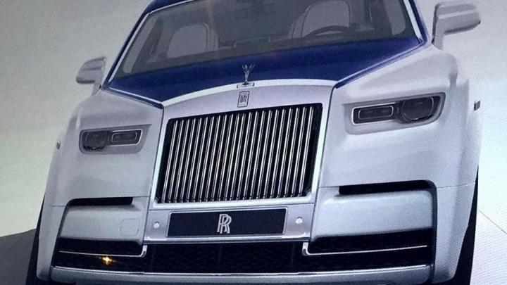 Новый Rolls-Royce попался на фото