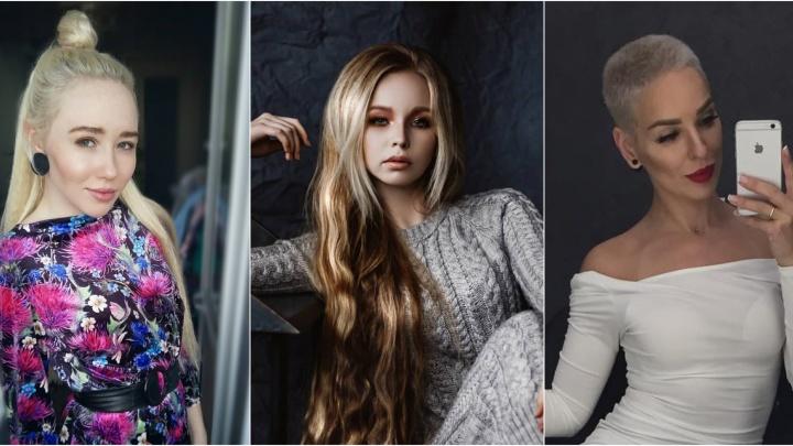 Неоновые чёлки и русалочьи локоны: 10 тюменок в Instagram, чьи причёски всегда приковывают взгляды