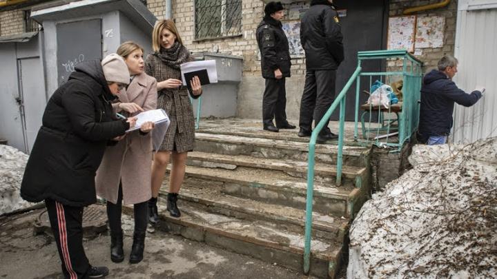 Соседские войны: в самарской хрущевке снесли незаконный балкон