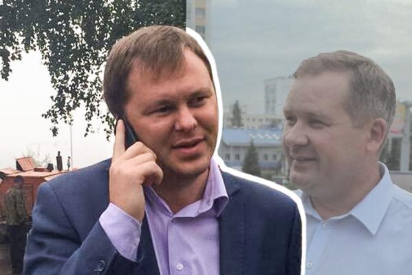 Сергей Плотников (слева) сменит в должности Роберта Ахунова (справа)