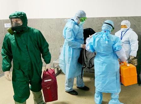 В аэропорту Архангельска отработали поиск больных коронавирусом
