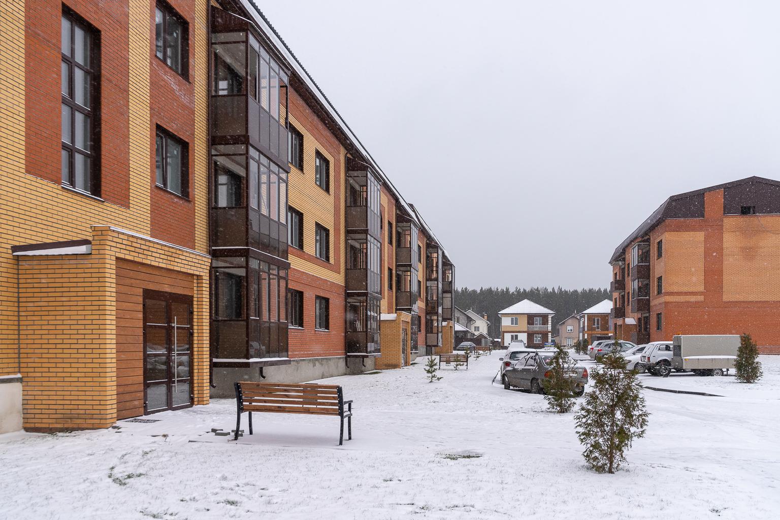 Квартиру можно купить в ипотеку, сумма первого взноса —от 50 тысяч рублей