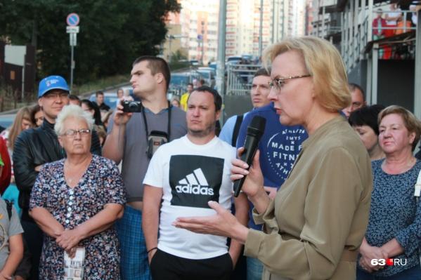 Мэр Лапушкина сообщила, что строительство социальных объектов может затянуться