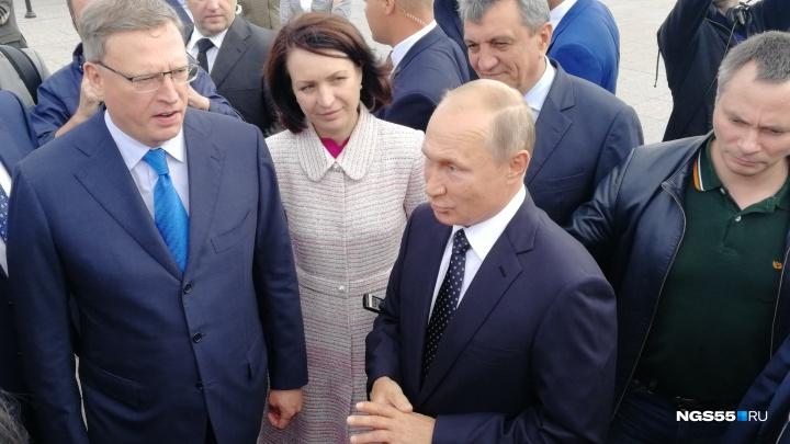 Путин прокомментировал бегство омичей в другие города