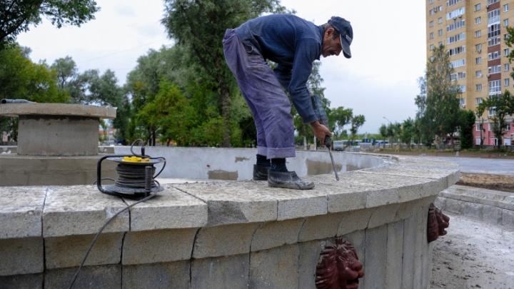 Обещают открыть в ноябре: смотрим, как в Перми восстанавливают сквер Розалии Землячки
