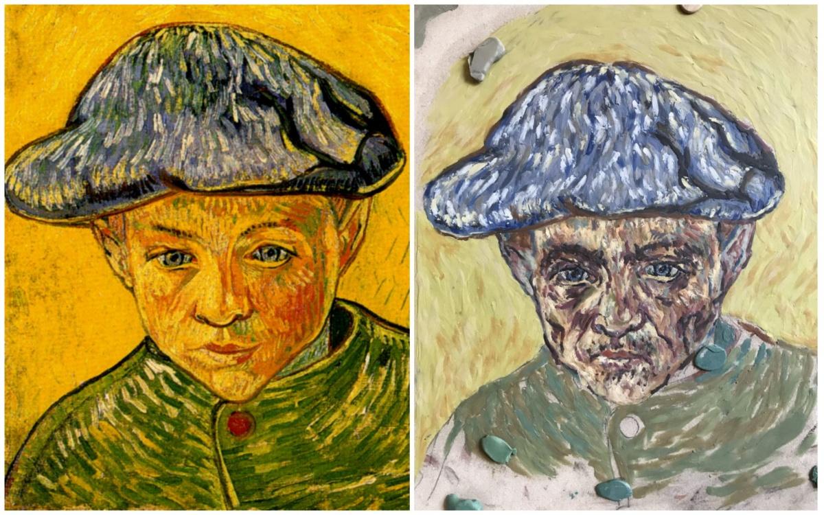 Ван Гог, «Портрет мальчика»