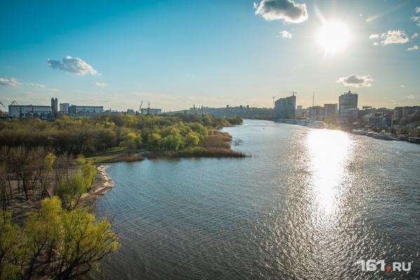 Выходные в Ростове будут ясными