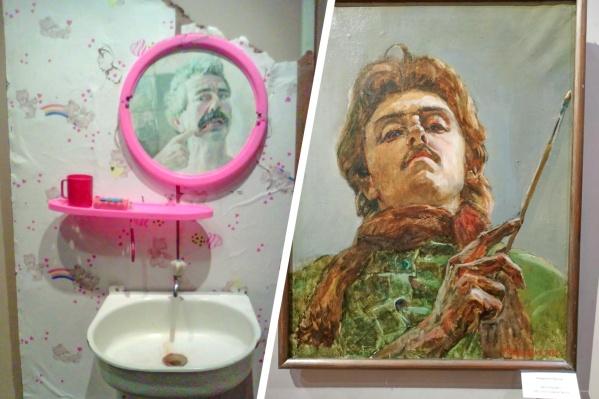 Слева работа Юрия Третьякова, справа — Виктора Хандрыкина