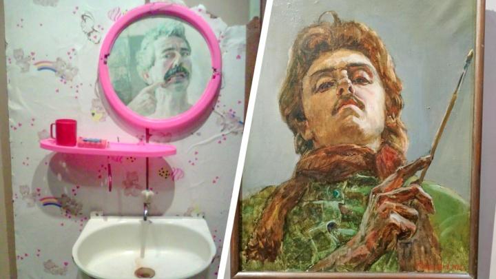 Сибирские художники показали, как видят самих себя: в центре искусств открылась выставка «Отражение»