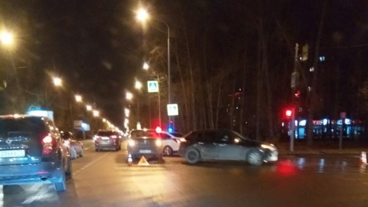 В аварии на улице 50 лет ВЛКСМ пострадал шестимесячный младенец