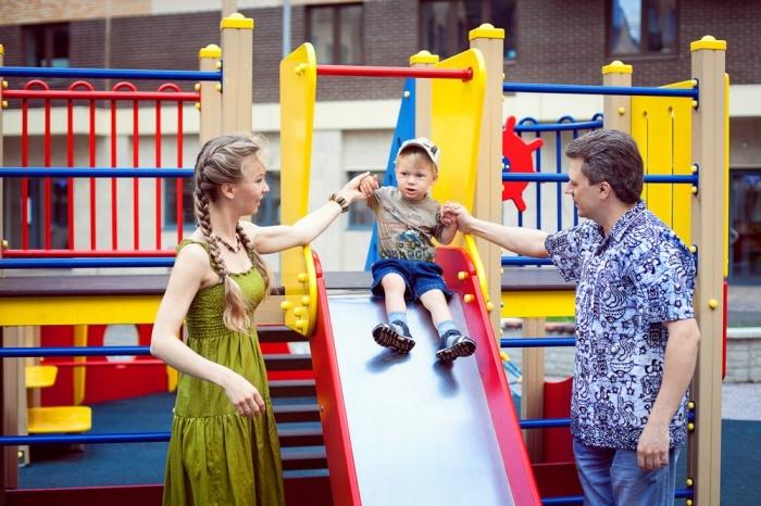 Лучшее – детям: обзор детских площадок в Красноярске (фото)
