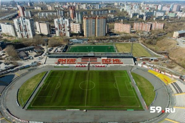 Передача имущества стадиона не отразится на его работе