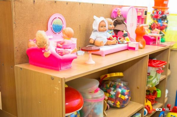 В середине декабря детский сад уже примет первых воспитанников