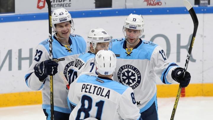 Долгожданная победа: «Сибирь» в гостях обыграла «Йокерит»