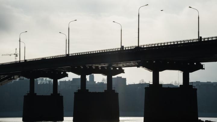 На мосту в Перми спасли девушку