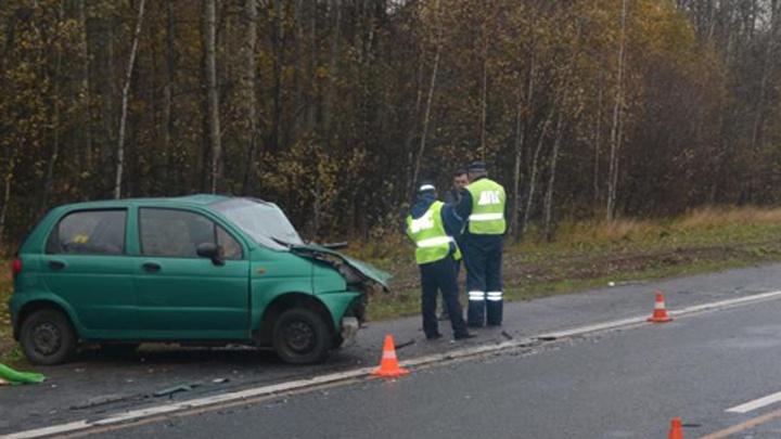 В Башкирии в ДТП с «Ладой-Приора» и «Дэу-Матиз» погибла пассажирка