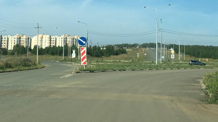 Инсультная ситуация: из-за скандала с садоводами власти сделают второй проект дороги под Челябинском