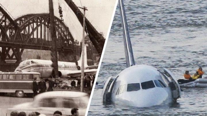 Круче, чем в кино: 7 историй о посадках самолетов, едва ли не ставших авиакатастрофами