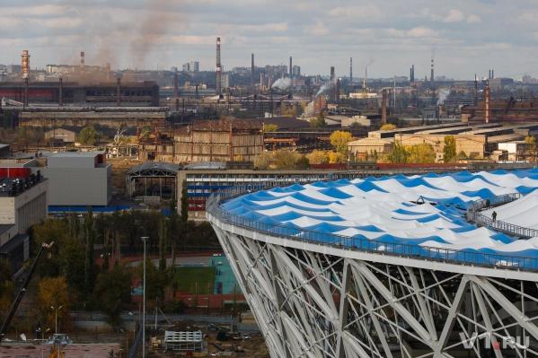 Волгоградская область больше всех в ЮФО потратила на чистый воздух