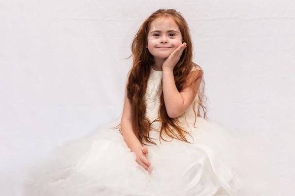 Наталья Литвиненко с трех лет учится позировать