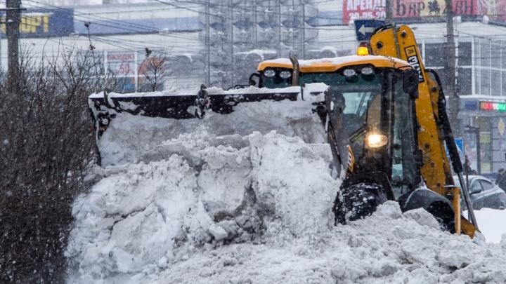 Снежный конфликт: дорожникам Плесецкого ДУ грозит расторжение контракта