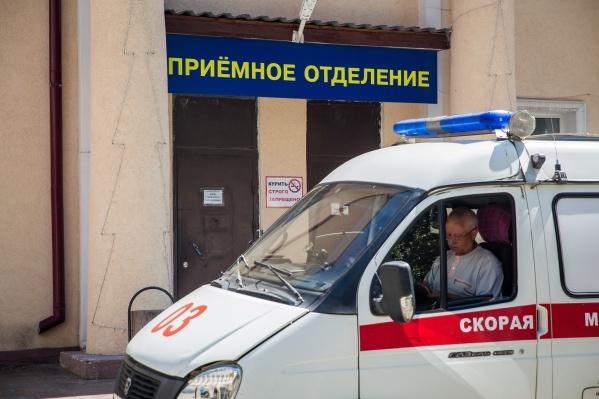 Авария произошла на улице Софийской
