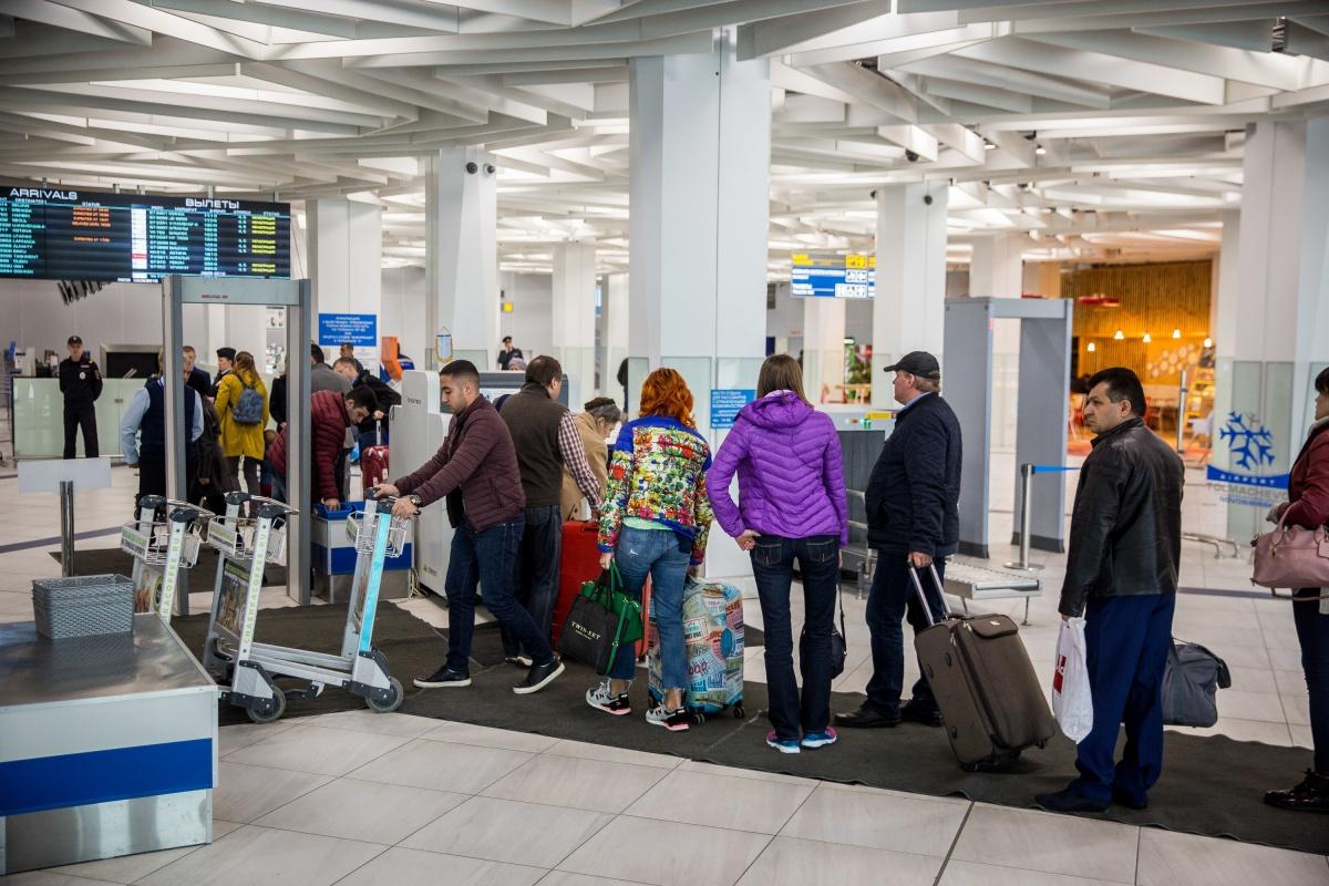 Авиакомпания отменила рейсы из-за плохой погоды в Москве