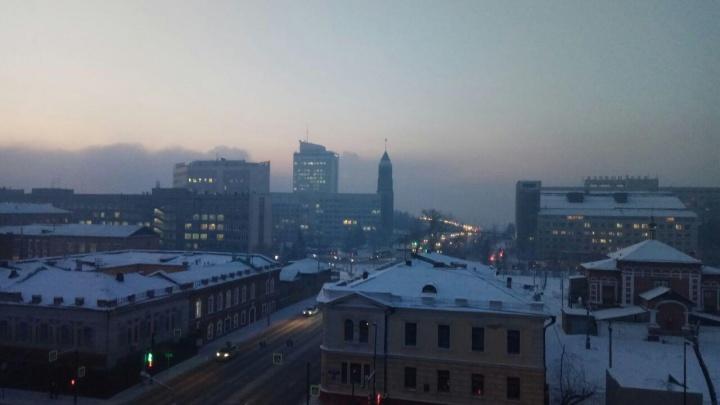 Красноярск накрыло удушливым смогом. Самые грязные районы