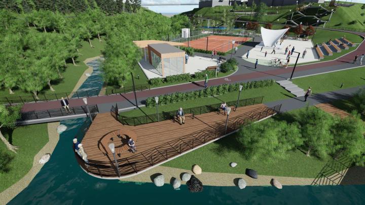«Красиво у нас не получается»: застройщик отказался от идеи построить парк в центре Новосибирска