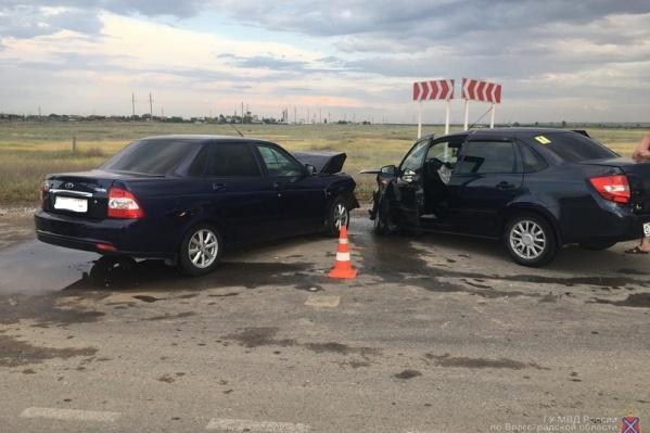 Авария случилась в Красноармейском районе