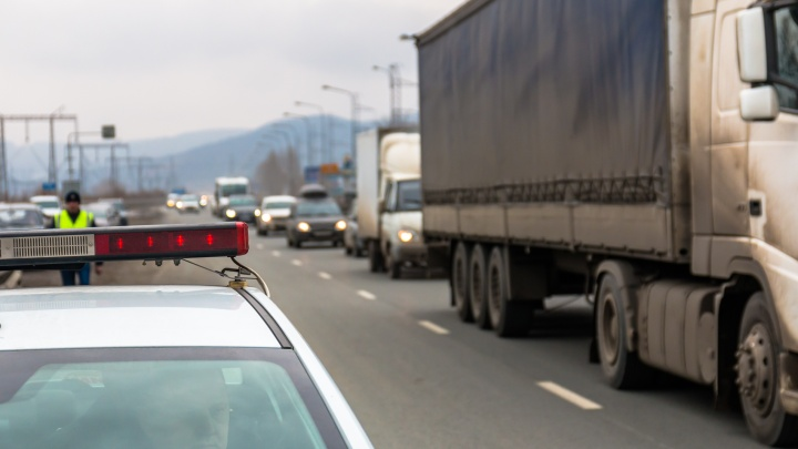 Еще на одном участке трассы М-5 в Самарской области ограничили движение транспорта