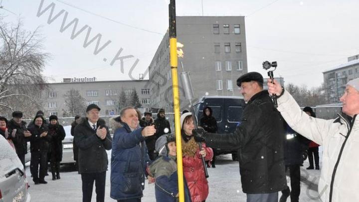 В Кургане в дома по Гоголя, Томина, Володарского и Карла Маркса провели природный газ