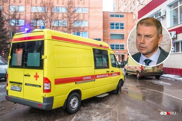 Вячеслав Малахов признался, что сам был инициатором перевода транспорта 03 на аутсорсинг