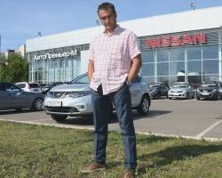 Nissan Murano: городской тест-драйв