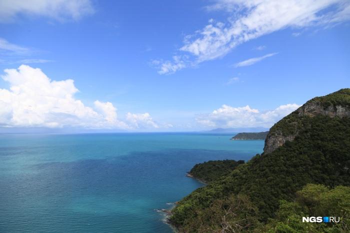 Самым популярным направлением зимой у новосибирцев остаётся Таиланд. На фото — один из тайских островов