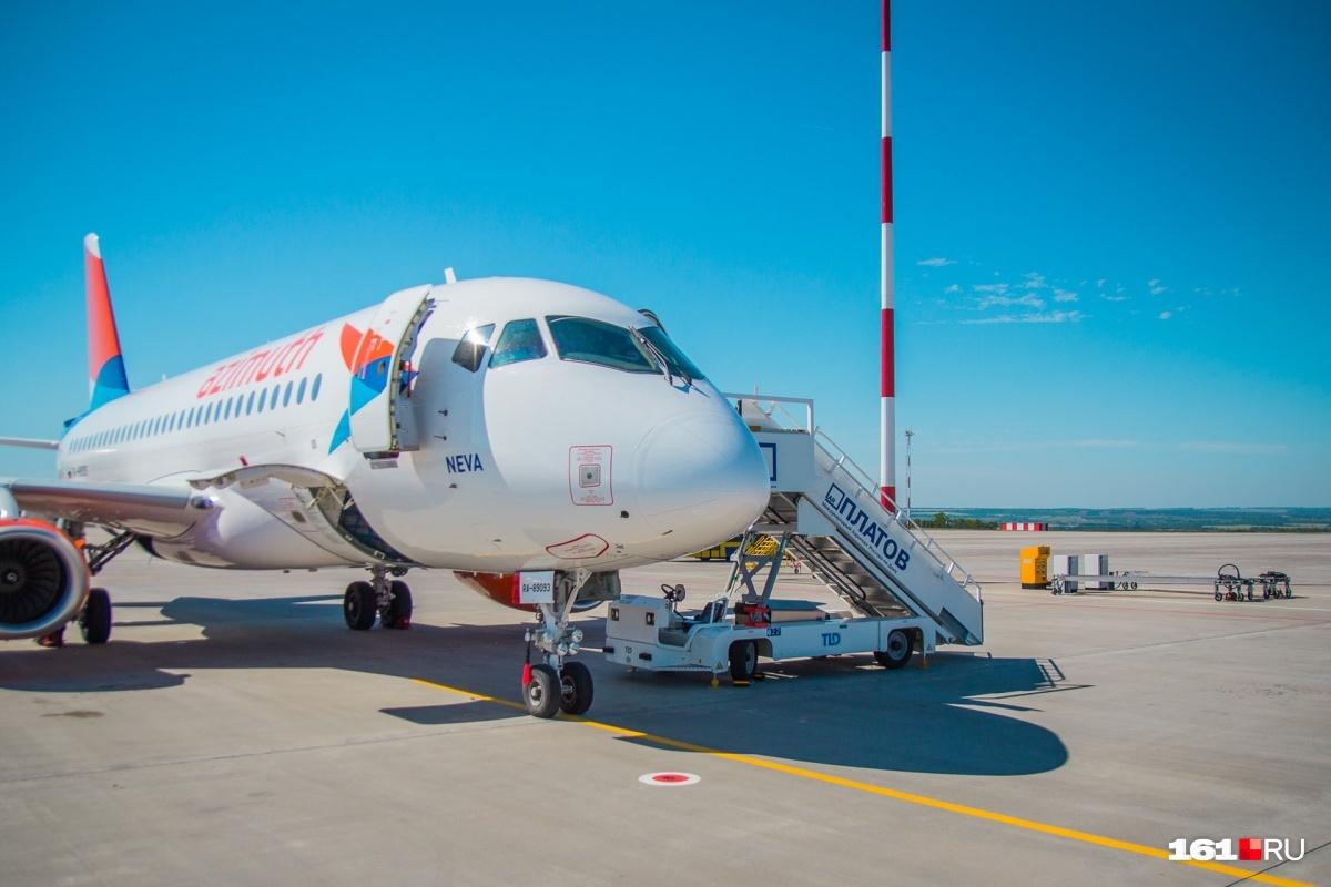 Борт приземлился в Ставрополе