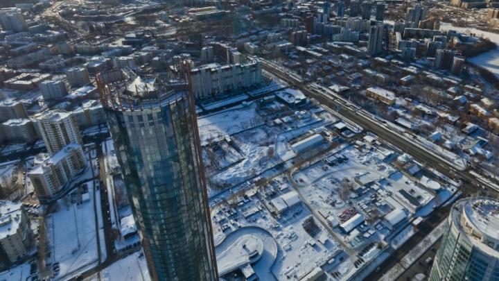 Эксперты разрешили строить новый торговый центр на пустыре у «Екатеринбург-Сити»