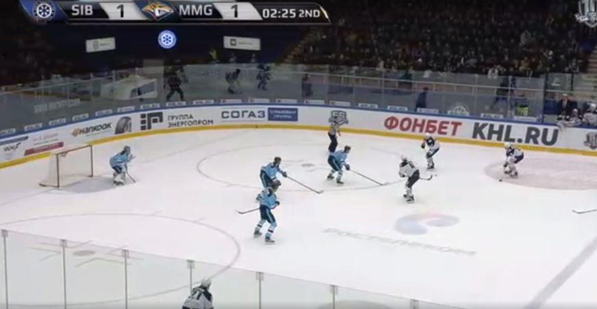 ХК «Сибирь» проиграл пятый матч подряд