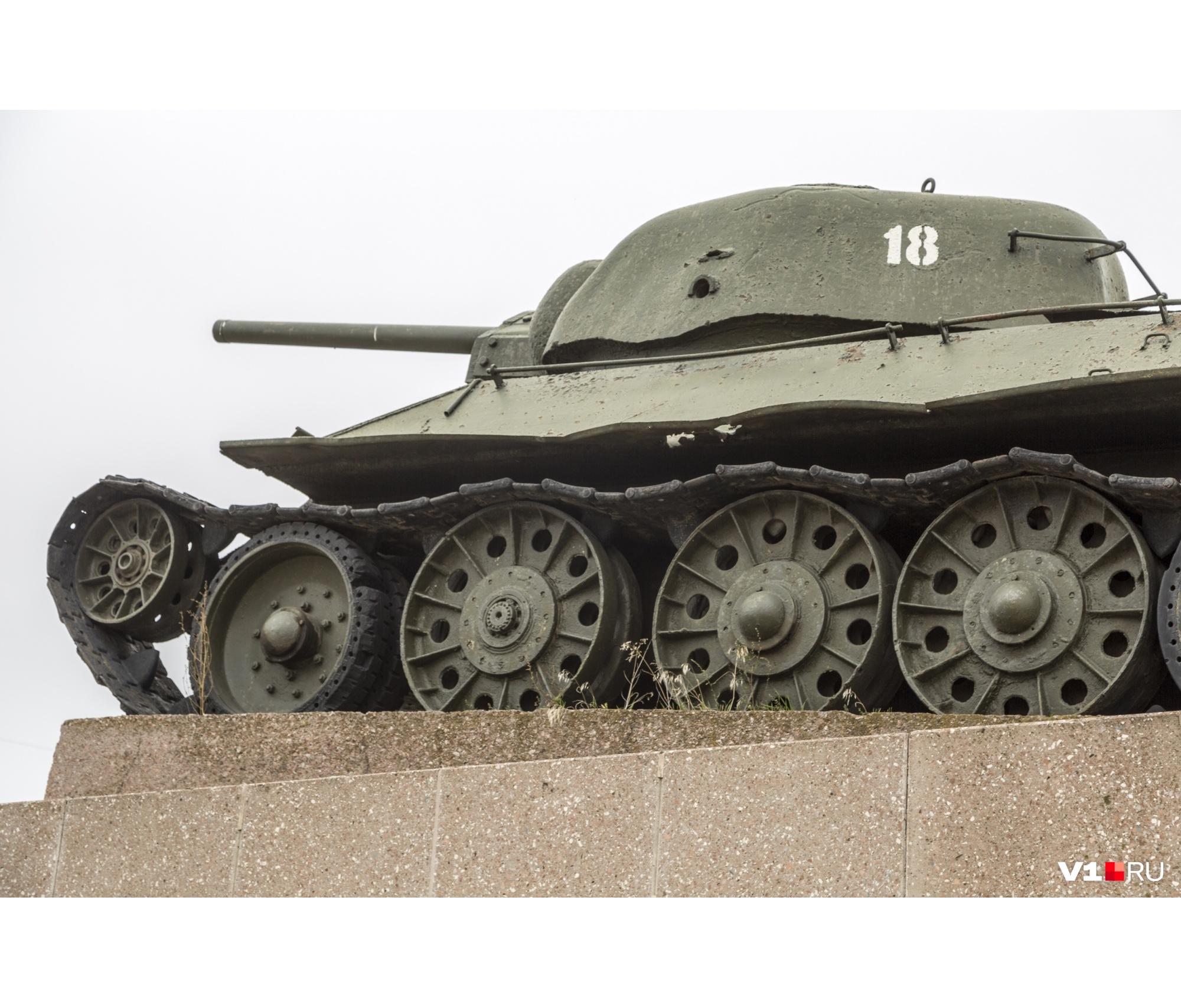 Реставрировать танк оказалось некому