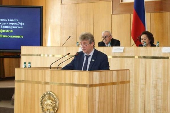 Валерий Трофимов заработал за год менее миллиона рублей