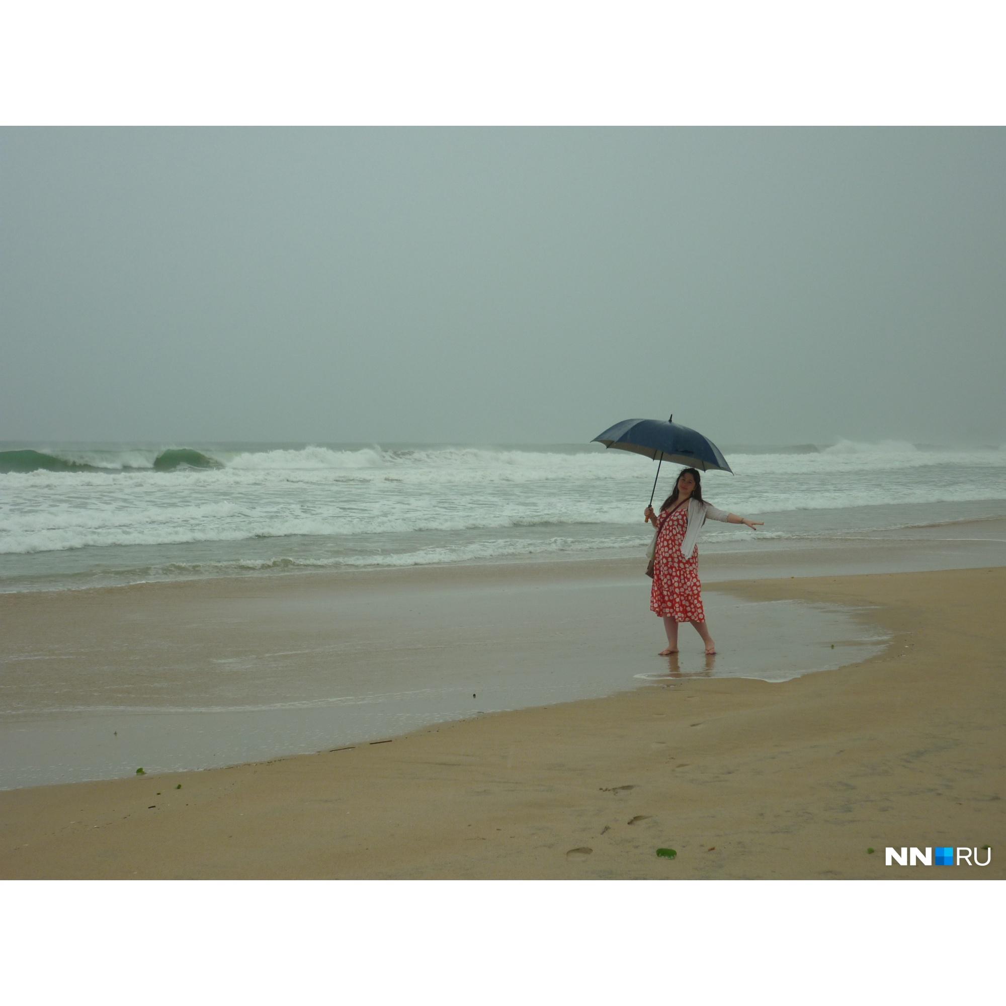 В дождливые дни в резорте совершенно нечего делать<br>