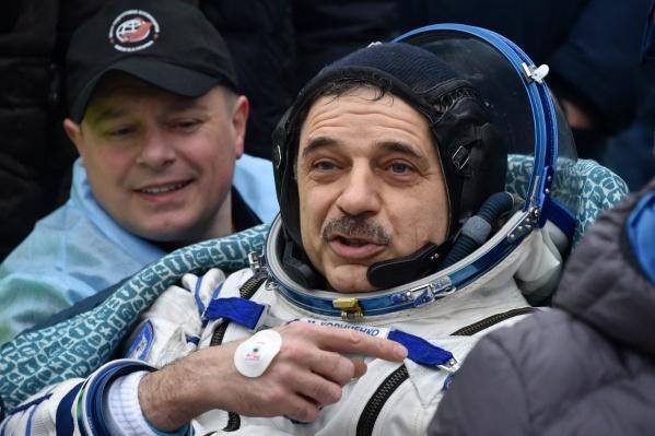 Михаил Корниенко жил на МКС более 500 суток