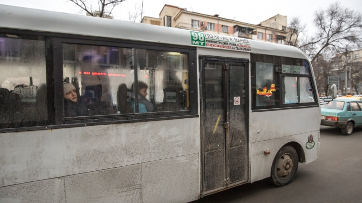 Маршрутку№ 98 в Ростове продлили до ЖК «Красный Аксай»